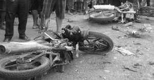 मोटरसाइकल दुर्घटनामा दुइ जनाको मृत्यु