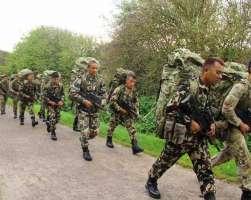 मकवानपुरका गाउँ-गाउँका मतदान केन्द्रमा सेना परिचालन