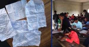 सिरहामा निजी विद्यालयको मिलेमत्तोमा परीक्षा अमर्यादित (फोटो सहित)