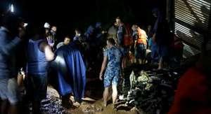 सिन्धुलीमा पहिरोमा परि एकै परिवारका ४ जनाको मृत्यु