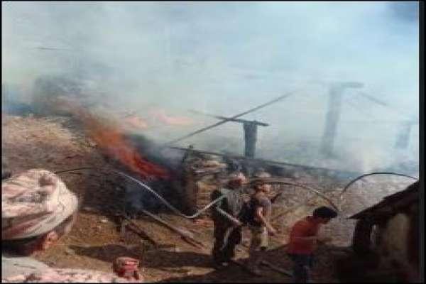 मुगुमा आगलागीबाट पाँच घर जले नष्ट