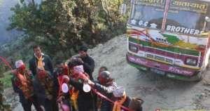 प्युठान: गाउँमा पहिलोपटक बस पुग्दा खुशीयाली