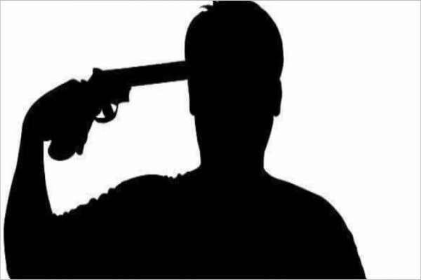 आफ्नै कन्चटमा गोली हानेर प्रहरी हवल्दारले गरे आत्महत्या