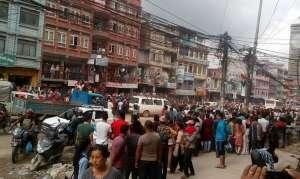काठमाडौंमा भयानक दुर्घटना: माइक्रोले पैदलयात्रीलाई सोहोर्दै लग्यो, एकको मृत्यु