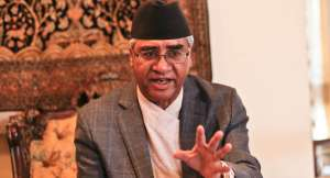 कम्युनिष्टले बहुमत पाए फेरि चुनाव नै हुँदैन: प्रधानमन्त्री