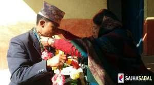 कारागारले जुराएको मायाले कारागार भित्रै विवाह बन्धनमा बाँधीदियो