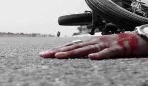 बसमा मोटरसाइकल ठोक्किँदा मोटरसाइकल चालकको मृत्यु